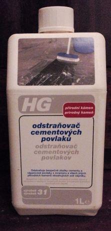 HG Odstraňovač cementových povlaků 1000 ml
