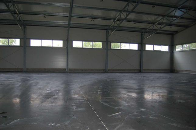 DO WYNAJĘCIA hala  magazynowo-produkcyjna 800m2  i 6 m wysokosci
