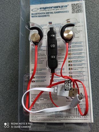 Słuchawki douszne bluetooth bezprzewodowe