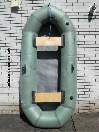 Лодка надувная резиновая Байкал 2х местная Лисичанск 35 см баллон и др