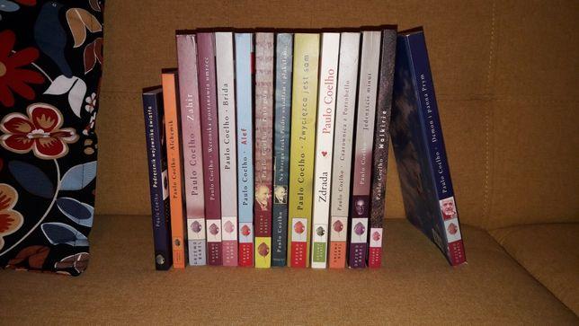 zestaw książka Paulo coelho