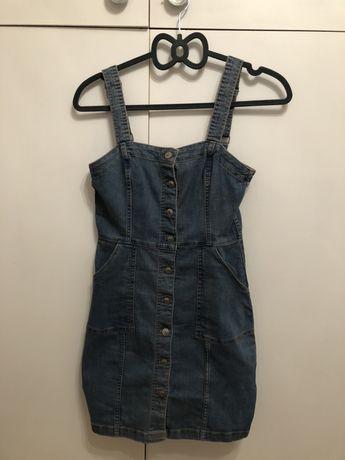Sprzedam sukienkę jeansową h&m 36