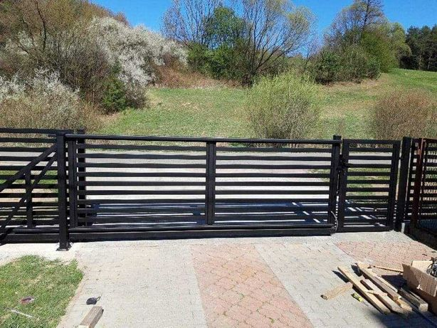Ogrodzenie Panelowe + Montaż Ral 7016