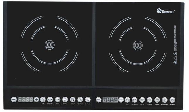 Новая индукционная плита Domotec 4000 вт электроплита печь плитка