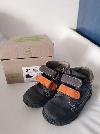 Buty przejściowe lasocki kids 21 skórzane w orginalnym pudełku
