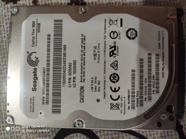 Жорсткий диск 500 ГБ Seagate