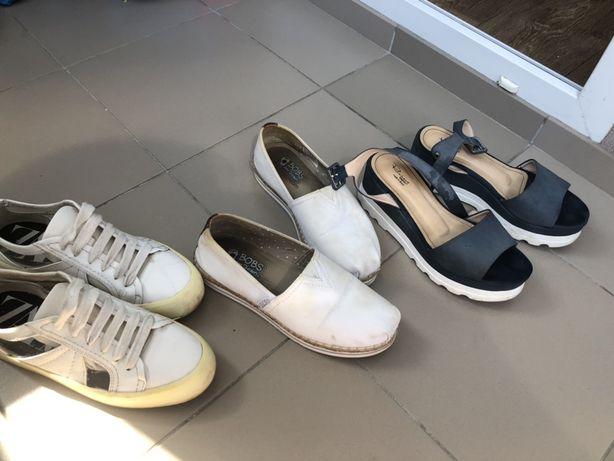 Продам три пары обуви , р.37