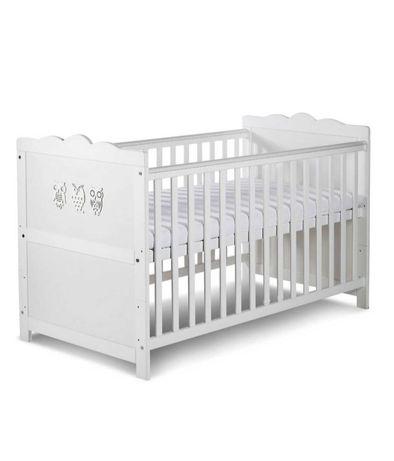 Łóżeczko dziecięce z materacem 140x70