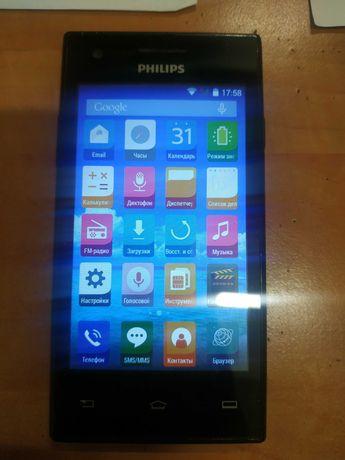 Мобільний телефон Philips S309 Dual Sim Black
