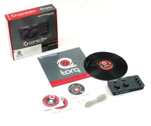 Software/ hardware dj:  M-audio torque conectiv