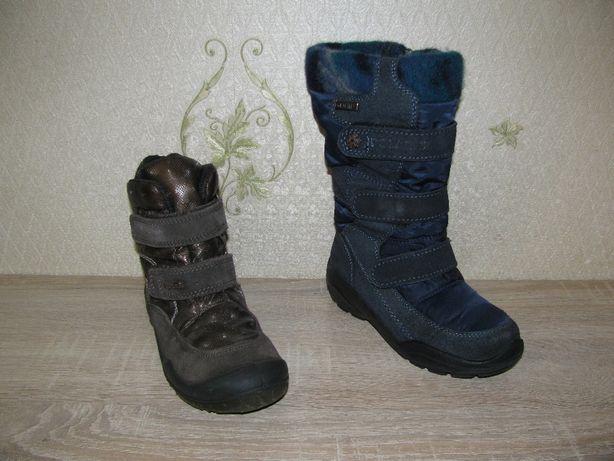 Сапоги и ботинки зимние Elefanten, Polaris для девочки р.32, б\у