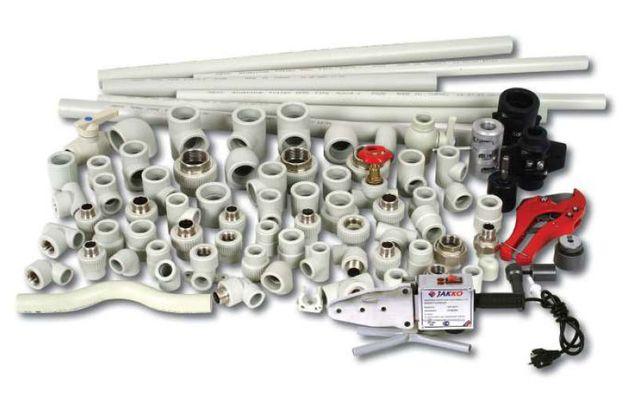 Пластиковая, полипропиленовая PPR труба PN,Stabi,Steklo 20-63под пайку