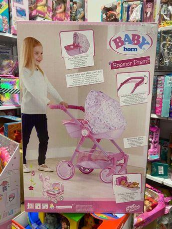 Коляска Для Куклы Baby Born - Променад с сумкой люлька беби борн