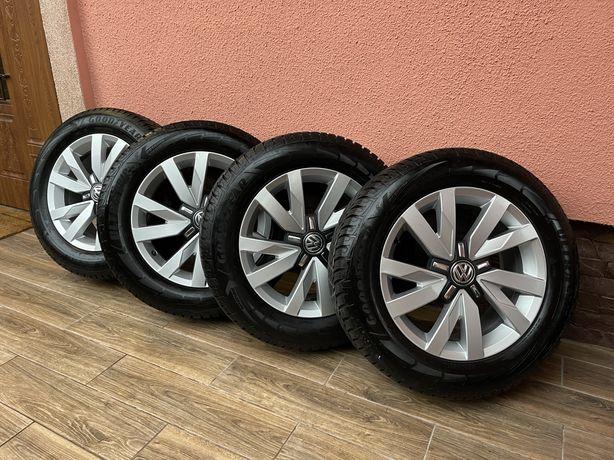 Диски R16 VW / PASSAT / 215/60R16/GOOD YEAR ULTRA GRIP 2018 / комплект