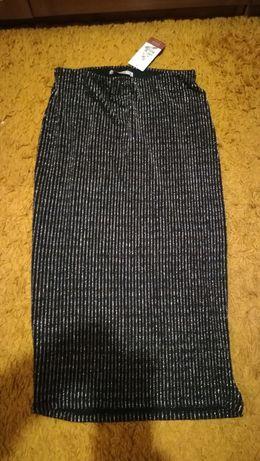 Nowa z metką czarno-złota spódnica i bluzka Pull&Bear Sylwester r. M/L