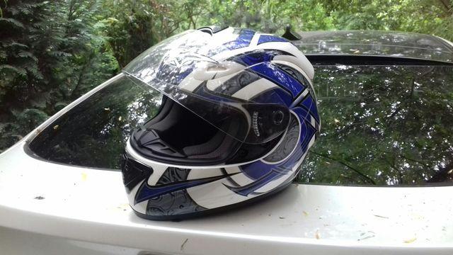 kask motocyklowy jak nowy zadbany rozmar M