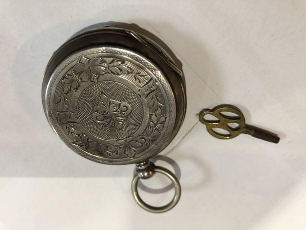 Zegarek kieszonkowy srebrny 1895roku