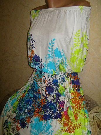 Шикарное новое платье сарафан пог 60 F&F