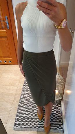 Drapowana spódnica SISLEY, rozm. S
