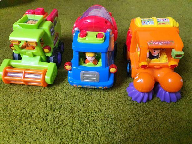 Набор спецтехники Huile Toys