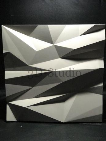 Гипсовые 3D (д) панели Stells