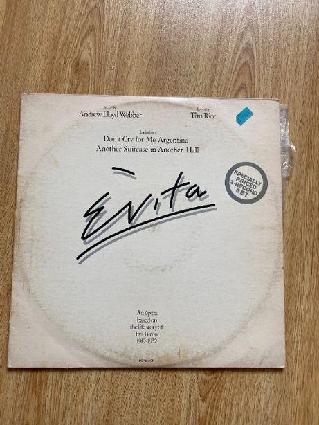 Evita by Lloyd Webber płyta winylowa 1976