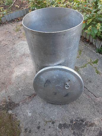 Продам литую алюминиевую емкость 50 на 80