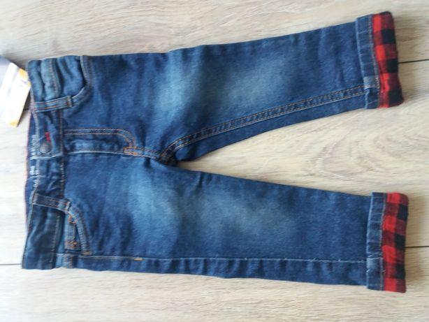 Nowe jeansy 86