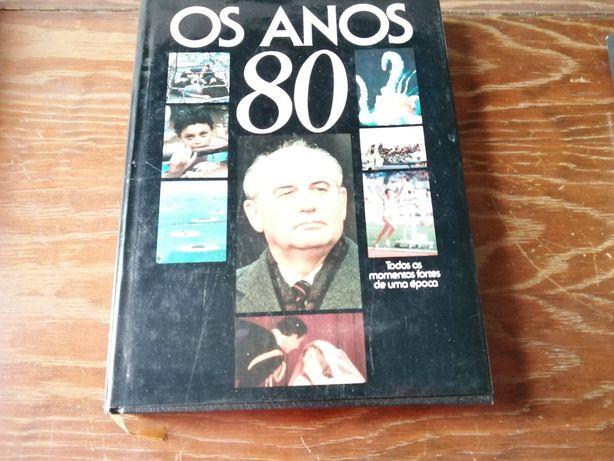 """Livro """"Os Anos 80"""""""