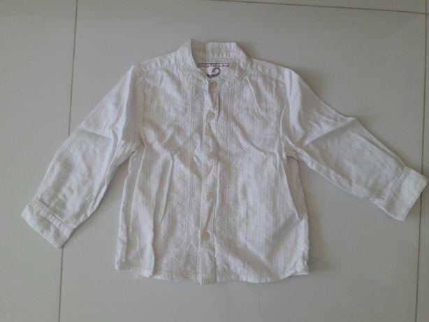 Рубашка с вышивкой monsoon 2-3 года