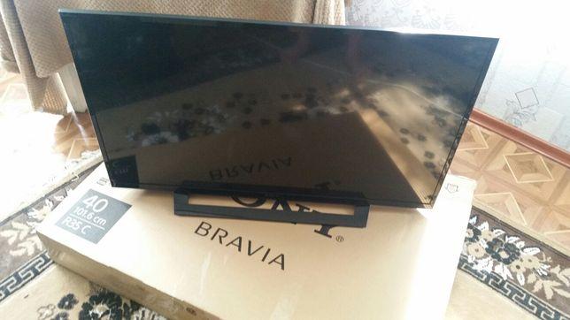 Продам телевізор sony bravia 40 + смарт приставка ergo