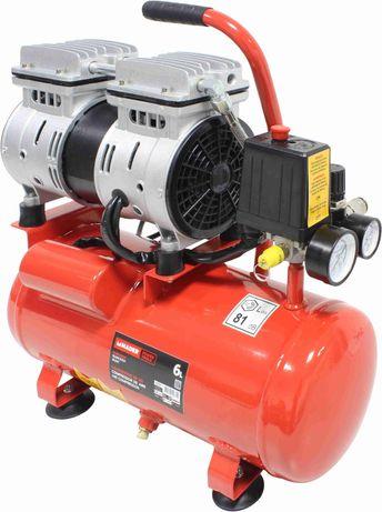 Compressor de Ar Silencioso, 0.75HP, 6L - MADER® | Power Tools