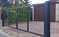 brama panelowa horyzontalna