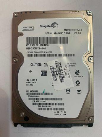 Жорсткий диск serial ata disc drive 500gb seagate