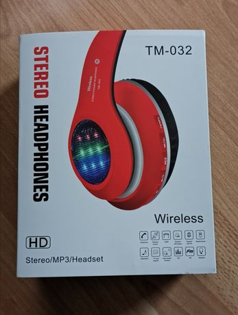 Słuchawki bluetooth TM-032