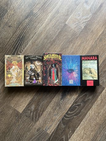Карты и книги Таро