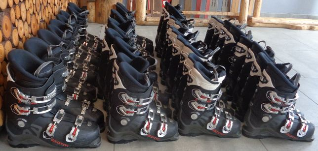 Pakiet butów narciarskich Salomon, buty narciarskie, pakiety, 95 zł