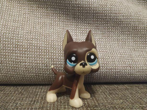 Littlest pet shop lps pop dog niemiecki #817/2 fake