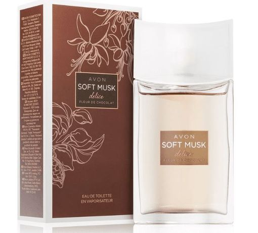 Avon Soft Musk Delice dla niej NOWY 50ml
