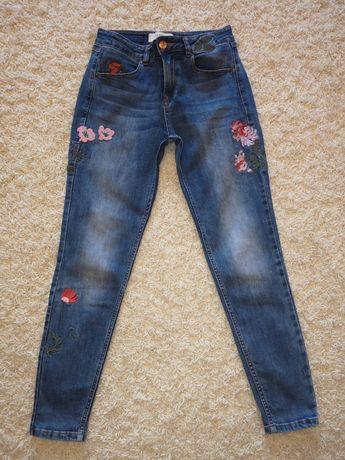 Джинсы Zara,джинсы,момы,mom-fit джинсы