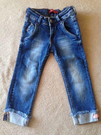 Стильные новые джинсы скинии на девочку 92см (2года) Турция