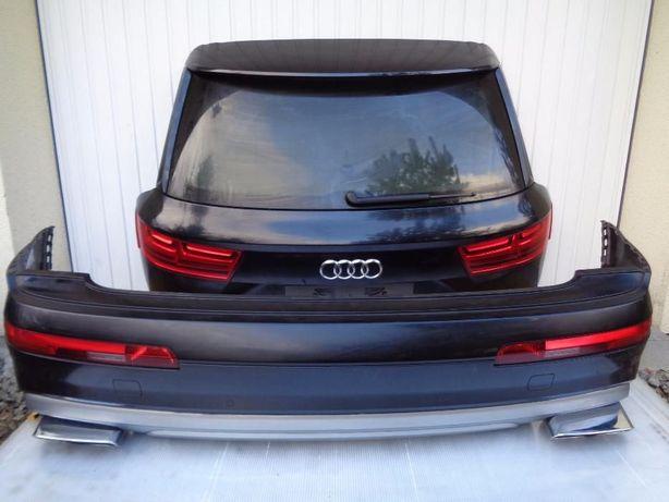 Крышка багажника кляпа(задняя.4L0827023 ) Audi Q7 комплектна: стекло