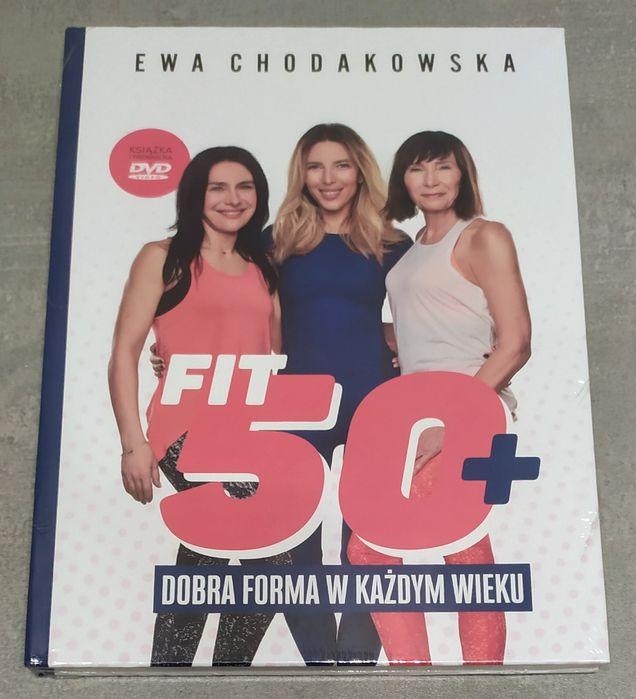 Ewa Chodakowska Fit 50+ - książka z DVD - nowe w folii Kraków - image 1