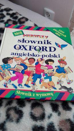 Slownik Oxford angielsko polski dla dzieci