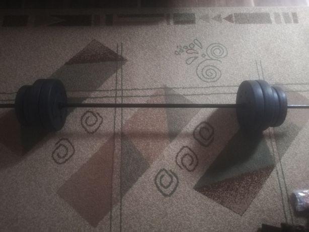 Sztanga i obciążenie 30 kg