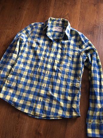 Koszula w kratę abercrombie S jak nowa