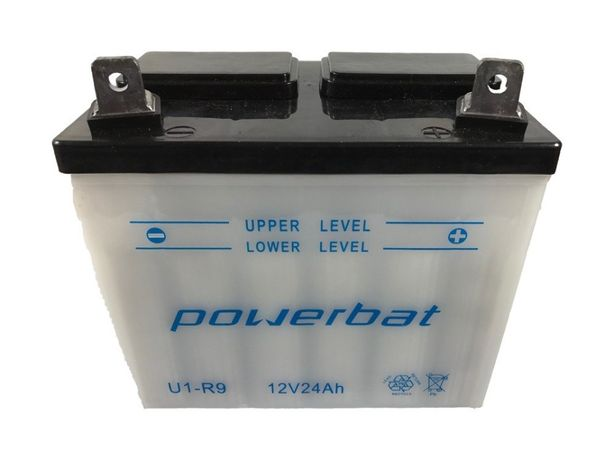 Akumulator 12V 24Ah POWERBAT U1-R9