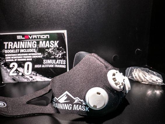 TRAINING MASK 2.0 maska treningowa Wydolnościowa rozmiar