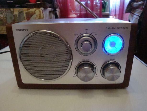 Радио SCOTT RX 1 Bw