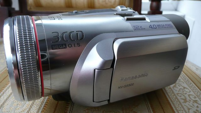 OKAZJA! znakomita półprofesjonalna kamera panasonic NV-GS500